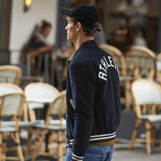 Sandro Corduroy varsity jacket