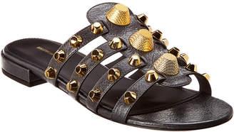 Balenciaga Giant Studded Leather Sandal