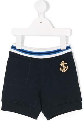 Moncler embroidered anchor casual shorts