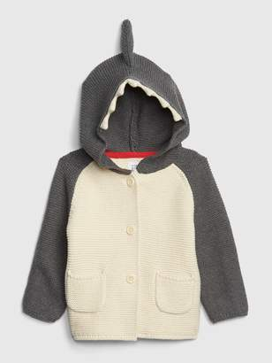 Gap Baby Brannan Bear Garter Shark Sweater