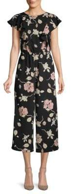 Mojo Floral Cropped Jumpsuit
