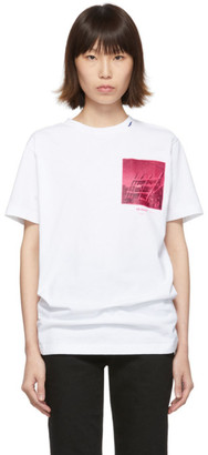 Off-White Off White White Halftone Arrows Slim T-Shirt