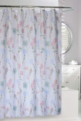 Moda At Home Pastel Floral Shower Curtain