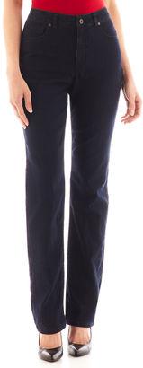 LIZ CLAIBORNE Liz Claiborne Essential Original-Fit Jeans - Tall $50 thestylecure.com