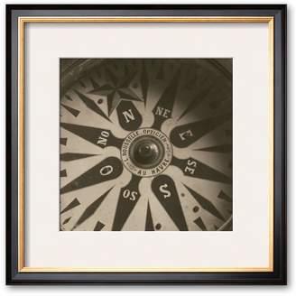"Art.com Nautical Aspect II"" Framed Art Print by Michael Kah"
