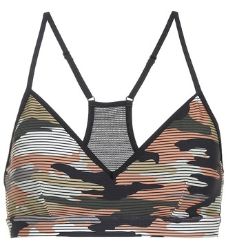 The Upside Andie camouflage bra