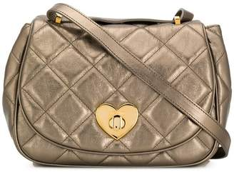 Moschino Cheap & Chic quilted heart lock bag