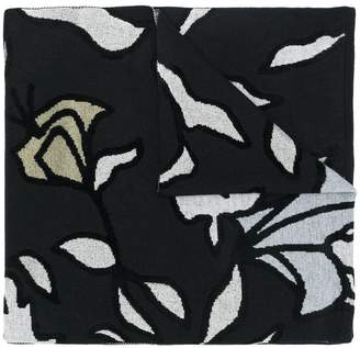 Christian Wijnants abstract print scarf