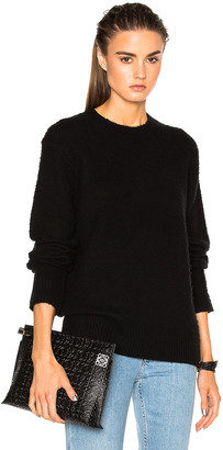 Acne Studios Peele Sweater in Black | FWRD