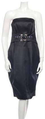 Matthew Williamson Strapless Dress