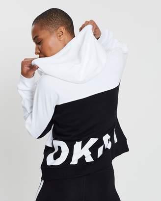 DKNY Colour-Block Hoodie