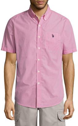 U.S. Polo Assn. USPA Short-Sleeve Colorblock Sportshirt