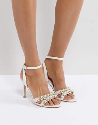 Faith Dasha Pearl Heeled Sandals