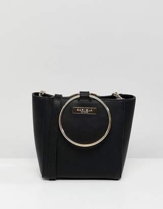 Carvela Super Circle Handle Crossbody Bag