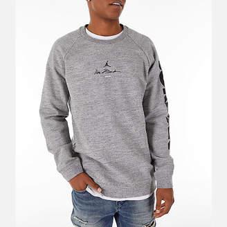 Nike Men's Jordan Sportswear Legacy AJ11 Fleece Crewneck Sweatshirt