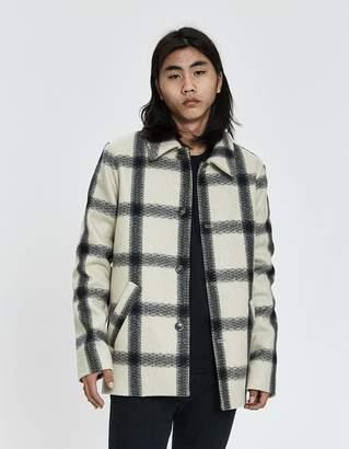 A.P.C. Vancouver Plaid Cloth Jacket