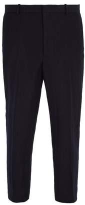 Jil Sander Slim-fit wool and mohair-blend trousers
