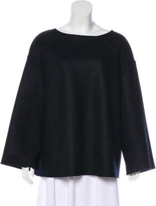 The Row Virgin Wool Oversize Sweater