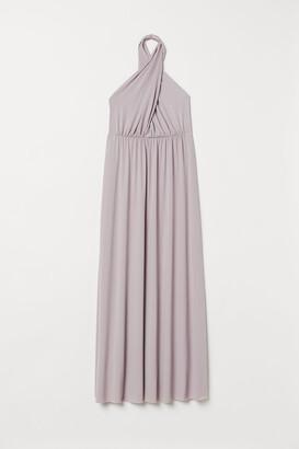 H&M Multiway Long Dress - Purple