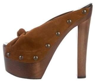 Giuseppe Zanotti Platform Clog Sandals
