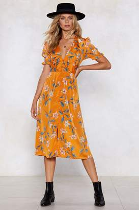 Nasty Gal Key West Floral Dress