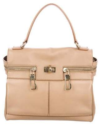 Max Mara Leather Satchel