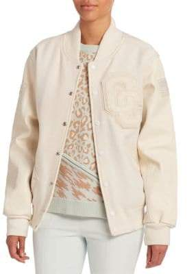 Opening Ceremony Patch Varsity Jacket