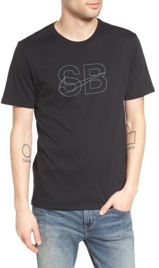 Men's Nike Sb Thin Lines Graphic T-Shirt
