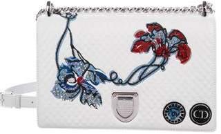 Christian Dior Embroidered Diorama Flap Bag