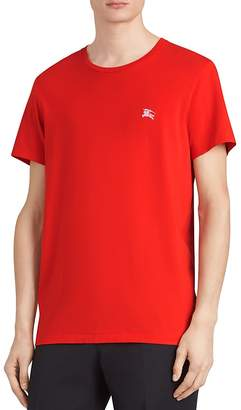 Burberry Logo-Embroidered Tee