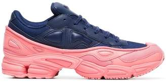 Adidas By Raf Simons pink and blue Ozweego leather sneakers