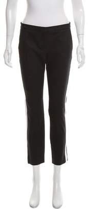 Karl Lagerfeld Mid-Rise Straight-Leg Pants