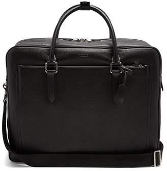 Smythson Burlington Leather Holdall - Mens - Black