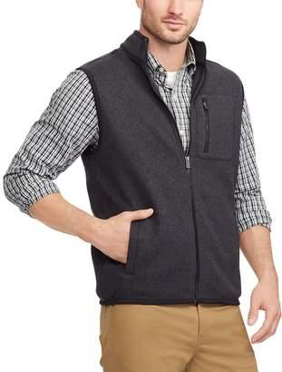 Chaps Men's Regular-Fit Sweater Fleece Vest