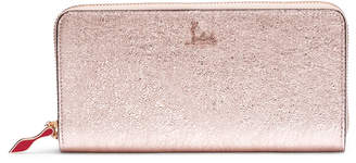 Christian Louboutin Panettone vintage rose gold wallet