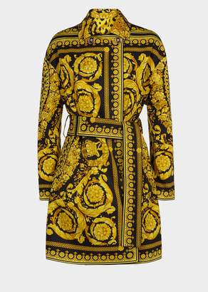 Versace Baroque FW'91 Print Tribute Coat