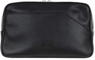 Harrods Ren Leather Wash Bag