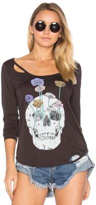 Chaser Garden Skull Tee $68 thestylecure.com