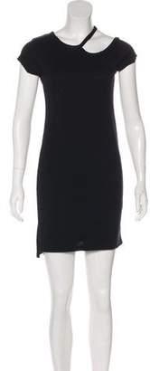 Pam & Gela Short Sleeve Mini Dress