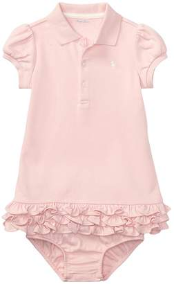 Ralph Lauren Interlock Cupcake Dress Girl's Dress