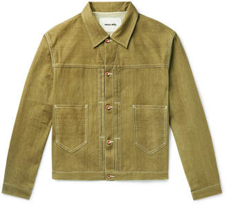 story. Mfg. Sundae Organic Selvedge Denim Jacket
