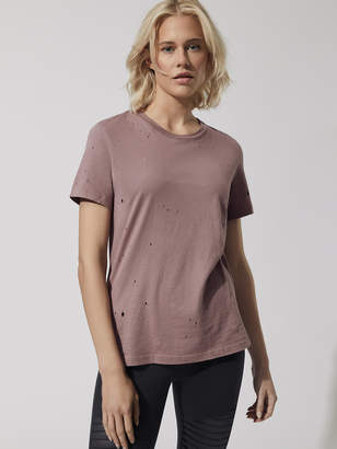 Alo Yoga RIPPED TEE
