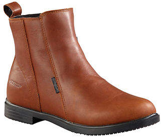 Baffin Womens Windsor Kensington Leather Ankle Boots