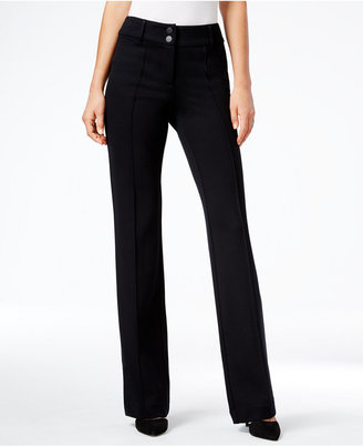 Style & Co. Tummy-Control Straight-Leg Pants, Only at Macy's $54.50 thestylecure.com