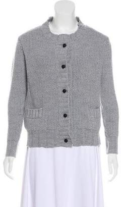 Boy By Band Of Outsiders Woven Knit Cardigan