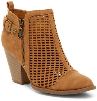 G by GUESS Privvy Laser-Cut Bootie $79 thestylecure.com