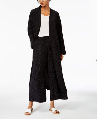 Eileen Fisher The Future Is Female Tencel Printed Kimono Jacket