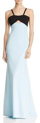 Jill Stuart Color-Block Mermaid Gown