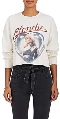 """Madeworn Women's """"Blondie"""" Cotton-Blend Cropped Sweatshirt"""