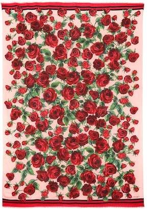 Dolce & Gabbana Modal and cashmere scarf